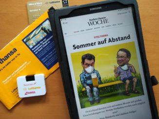 Frankfurter Allgemeine Woche und Miles and More