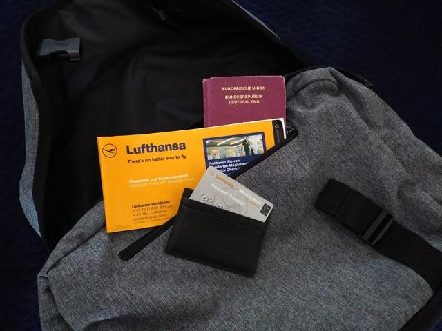 Lufthansa FTL Karte