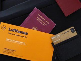 Lufthansa Senator Karte