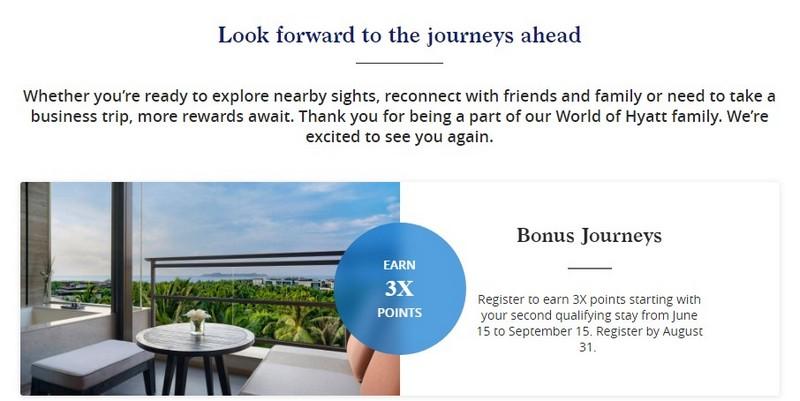 Hyatt Ready to Travel Promotion bis 15.09.2020