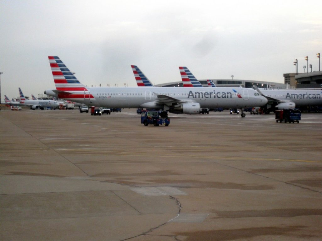 American Airlines Airbus A320