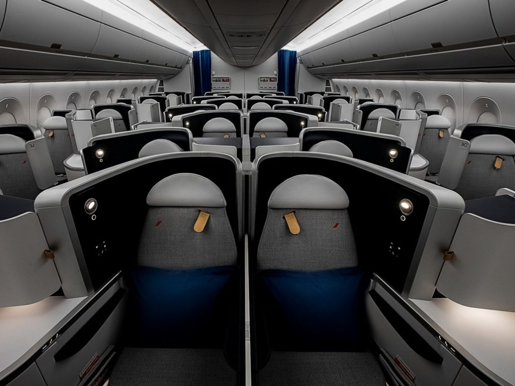 AF Business-Class (Airbus A350-900)