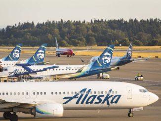 Alaska Airlines Impressionen
