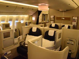 BA Business-Class (Boeing 777-300)
