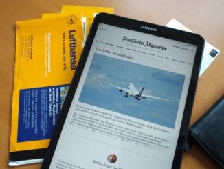 Frankfurt Allgemeine Zeitung und Miles and More