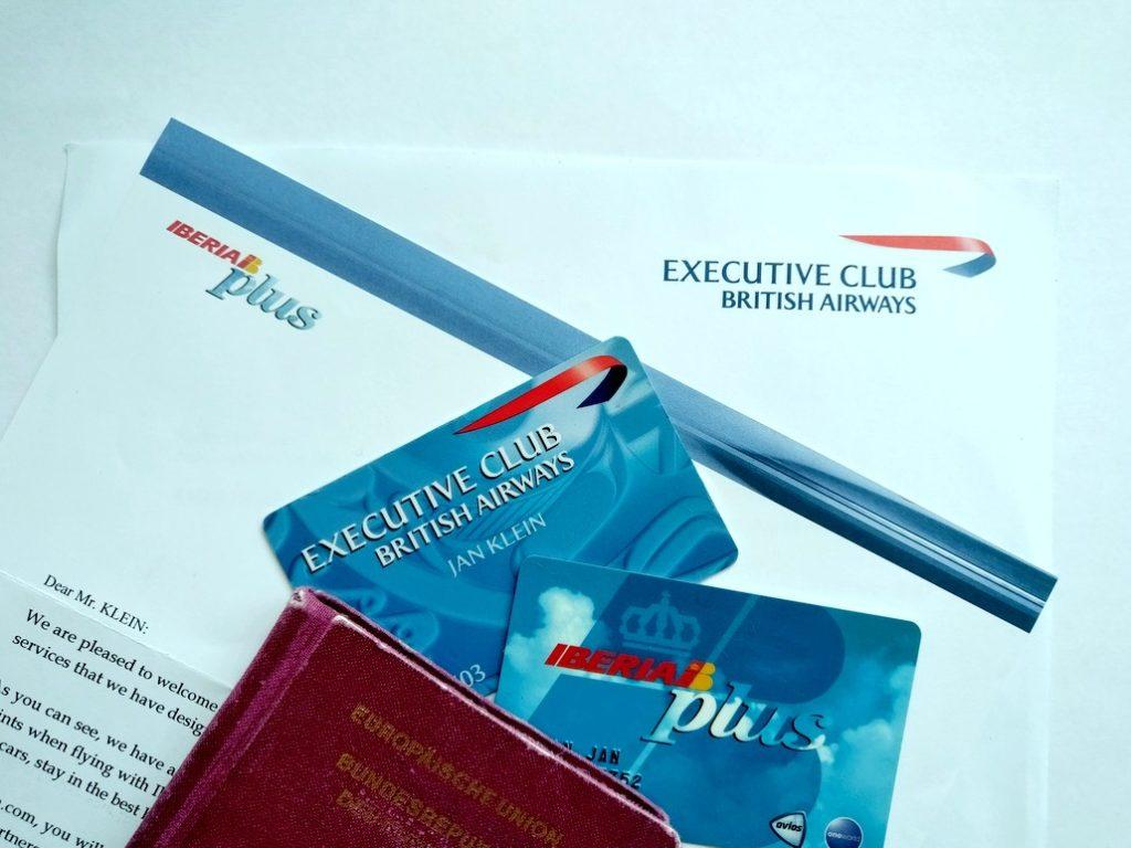 Iberia Plus und British Airways Executive Club
