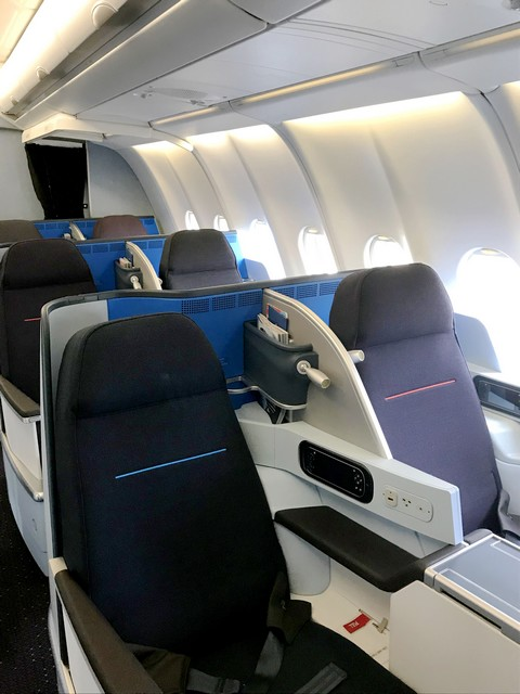 Die KLM Business-Class auf der Langstrecke im Airbus A330-300