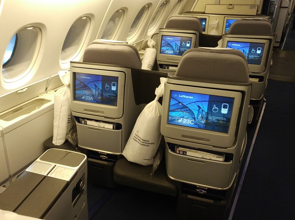 LH Business-Class (Airbus A380-800)