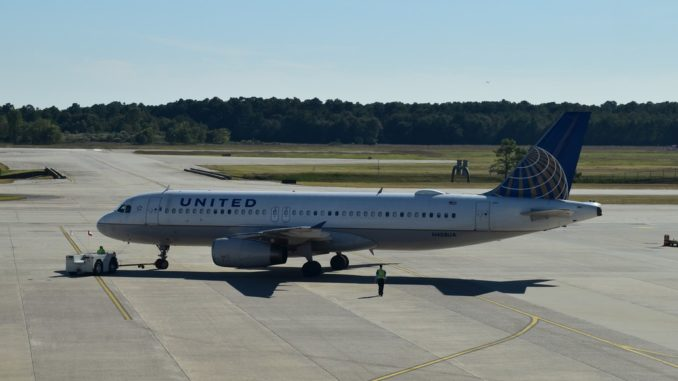 United Airlines Airbus A320