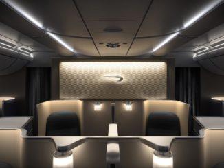 BA First-Class (Boeing 777-300)