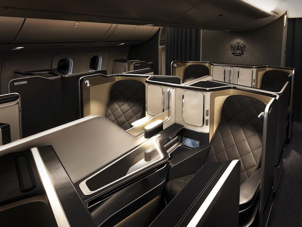 BA First-Class (Boeing 787-9)