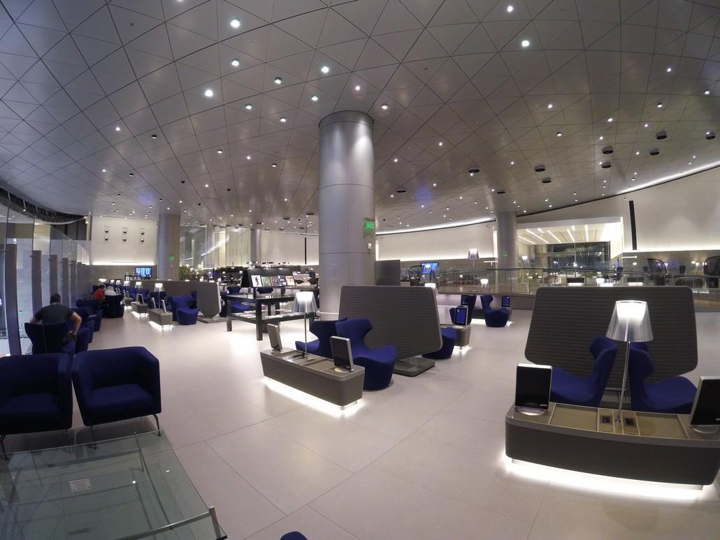 Al Mourjan Business Lounge am Doha Hamad International Airport
