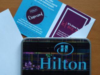 Hilton Honors Diamond