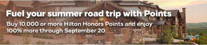 Doppelte Punkte beim Hilton Honors Punktekauf bis 20.09.2020