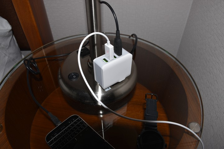 Hier ist der Anschluss des Lencent Multi USB Ladegerät kein Problem