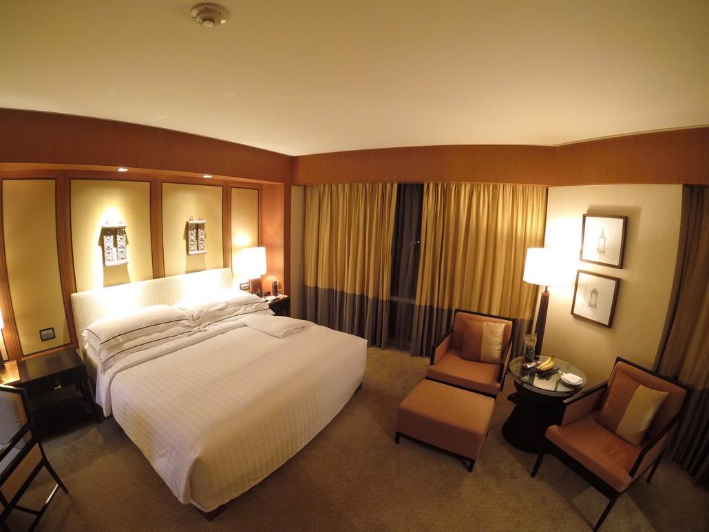 Deluxe Corner Room im Conrad Bangkok
