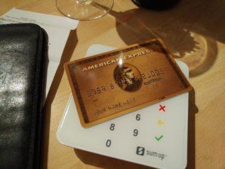 American Express Kreditkarte Gold