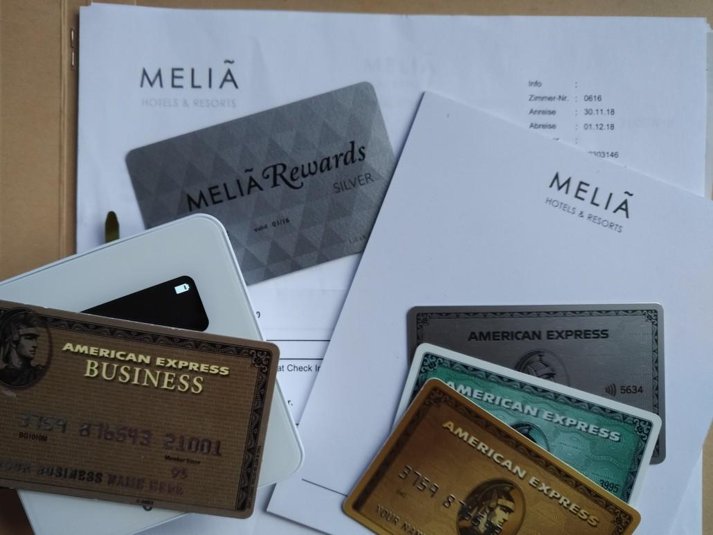 American Express und Melia Rewards