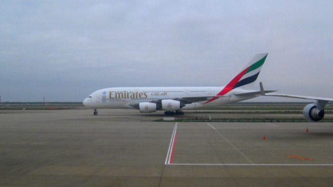 Emirates Airbus A380-800