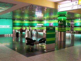 Europcar Station am Flughafen Hannover