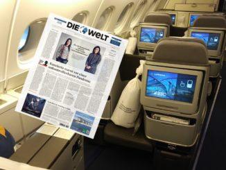 """""""Die Welt"""" und Lufthansa Miles and More Angebote zum Meilensammeln"""