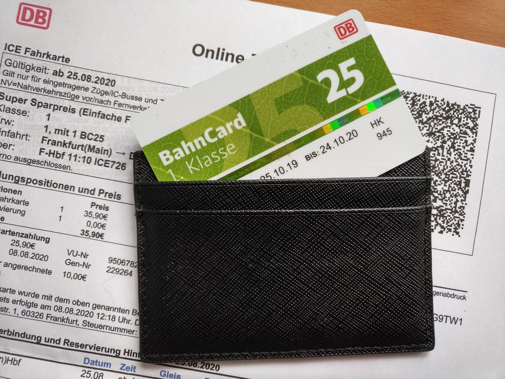 Bahncard 25 First