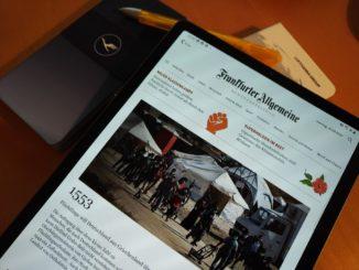 Frankfurter Allgemeine Zeitung und Miles and More