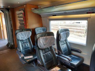 ICE 2 Wagen der ersten Klasse