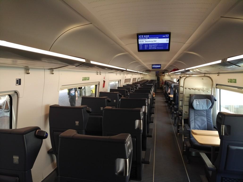 ICE Wagen der ersten Klasse