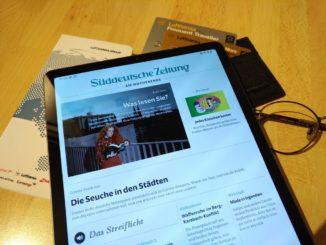 Süddeutsche Zeitung und Miles and More