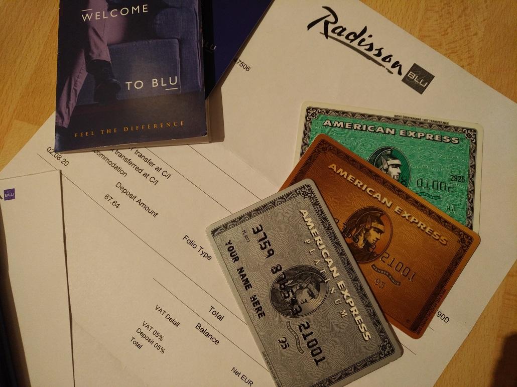 50 EUR American Express Gutschrift bei Radisson bis 31.12.2020