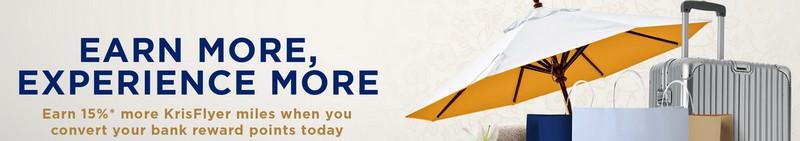 15% Transferbonus zu Singapore Airlines bis 27.12.2020