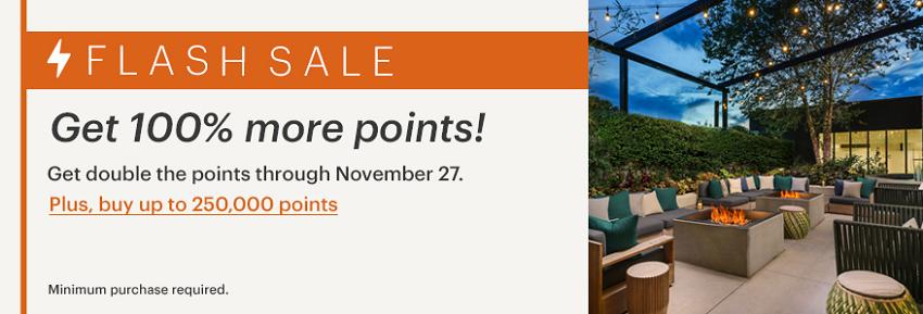 Doppelte Punkte beim IHG Rewards Club Punktekauf bis 27.11.2020