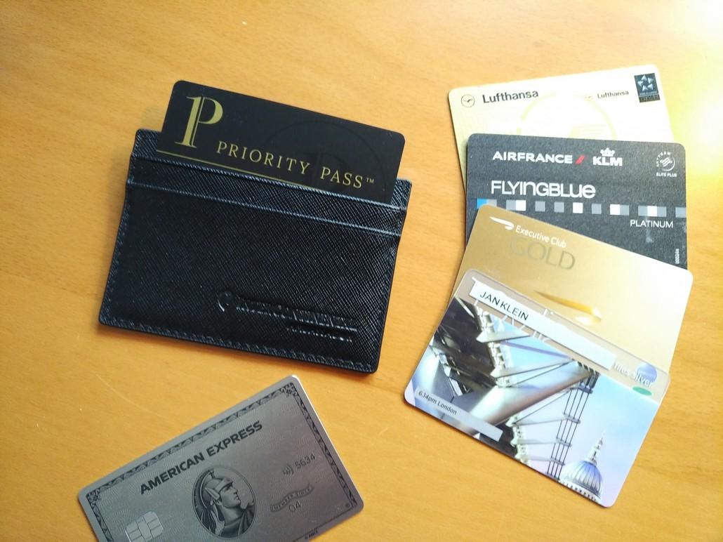 Priority Pass, American Express und Vielfliegerprogramme