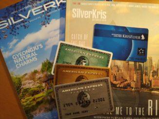 American Express und Singapore Airlines KrisfFlyer