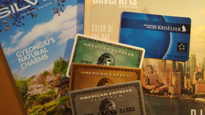 American Express und Singapore Airlines KrisfFlyer