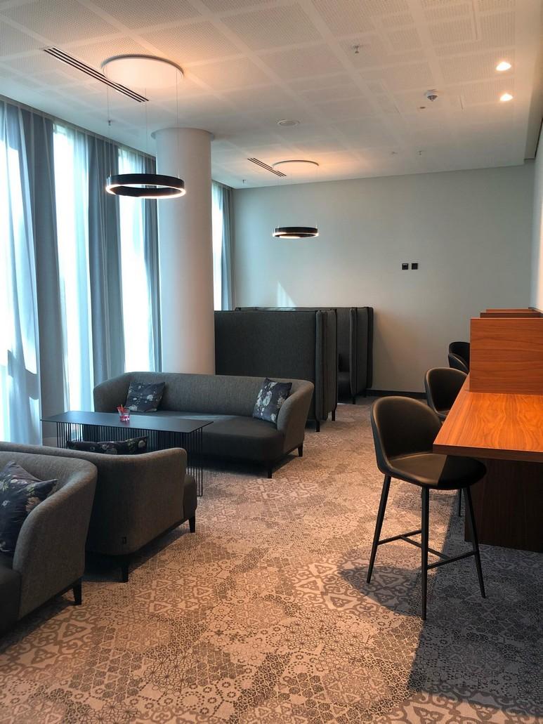 Club Lounge im Hyperion Hotel in München