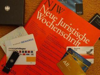 Neue Juristische Wochenschrift und Gästeprogramme der Hotels