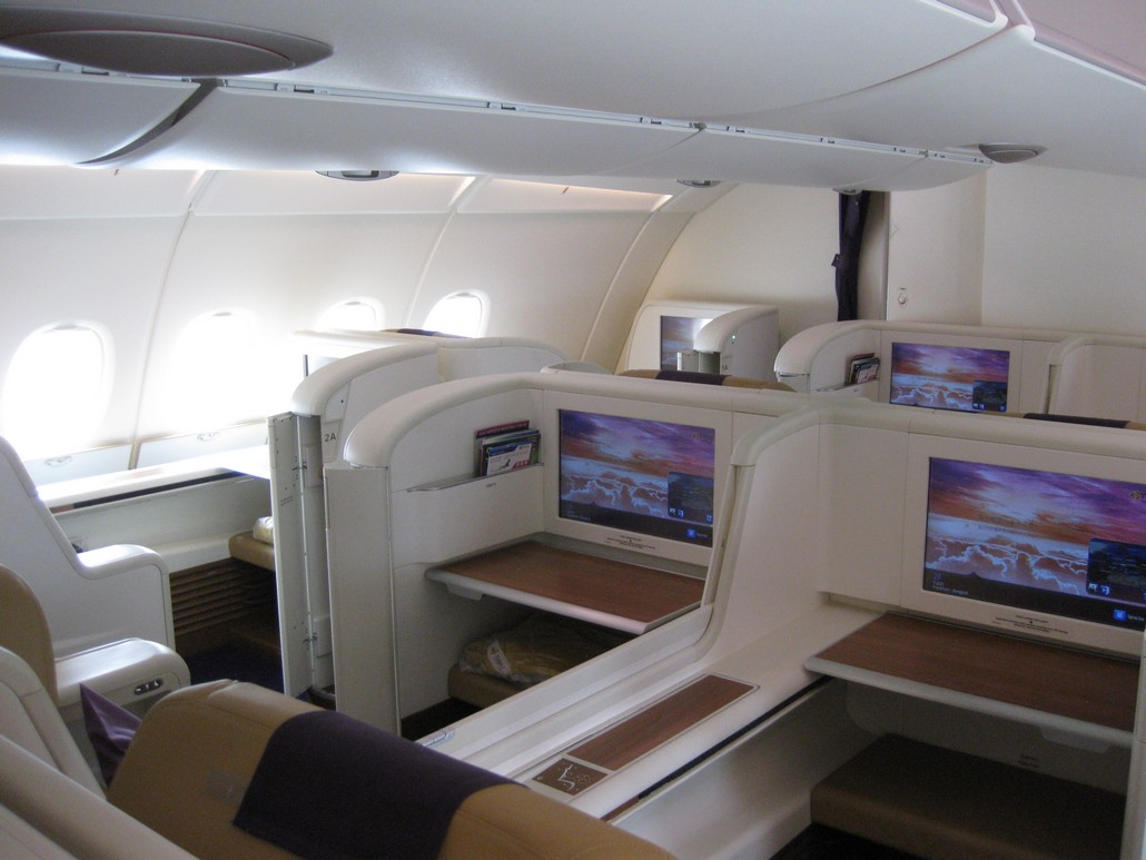TG First-Class (Airbus A380)