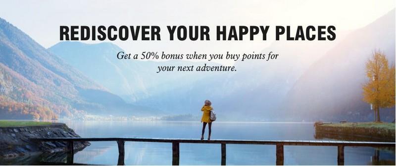 Kauf von Marriott Punkten bis 22.12.2020 mit 50% Bonus