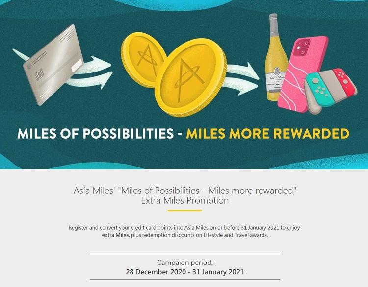 Bonus beim Transfer von American Express zu Cathay Pacific Asia Miles bis 31.01.2021