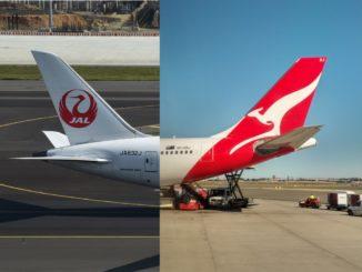 Joint Venture zwischen JAL und Qantas im Juli 2021?