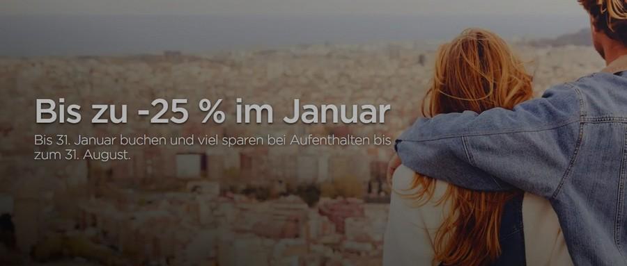 Radisson Januar Sale 2021 mit bis zu 25% Ersparnis und Frühstück