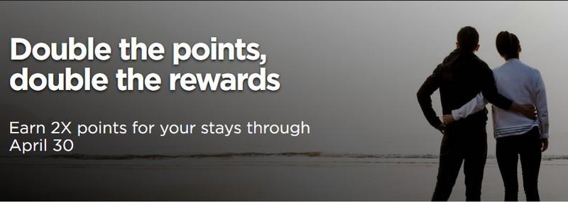 Im Zeitraum 01.02.2021 bis 30.04.2021 gibt es bei Radisson Rewards doppelte Punkte