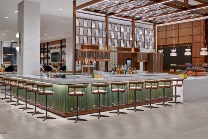 Erneuerung der Sheraton Hotels - Cofee Bar Bar