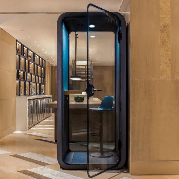 Erneuerung der Sheraton Hotels - The Booth