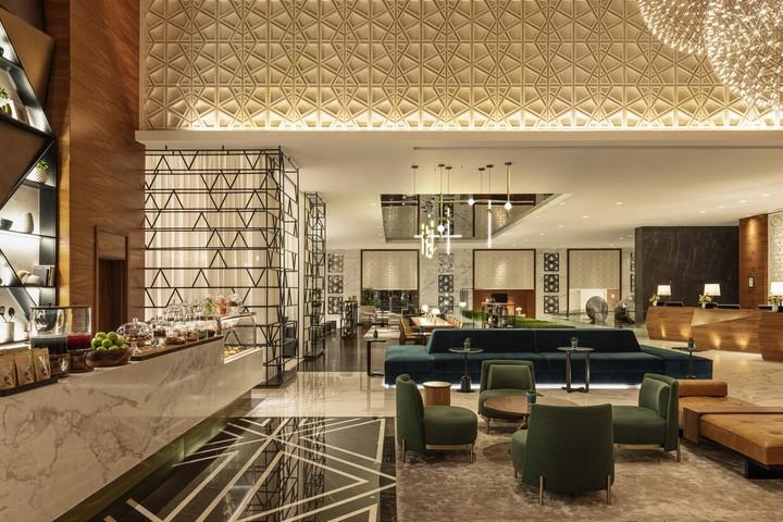 Lobby des Sheraton Grand Dubai