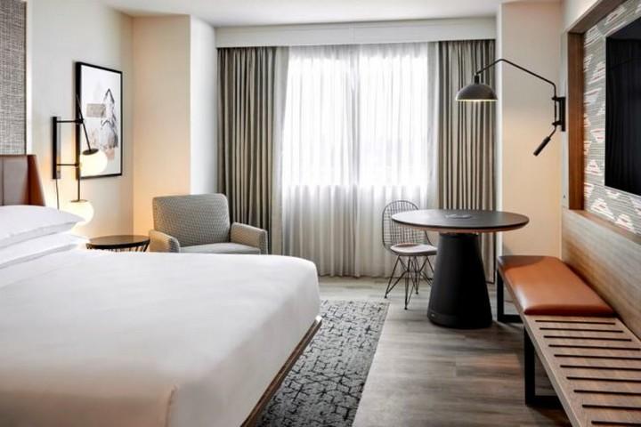 Zimmer eines Sheraton Hotel im neuen Design