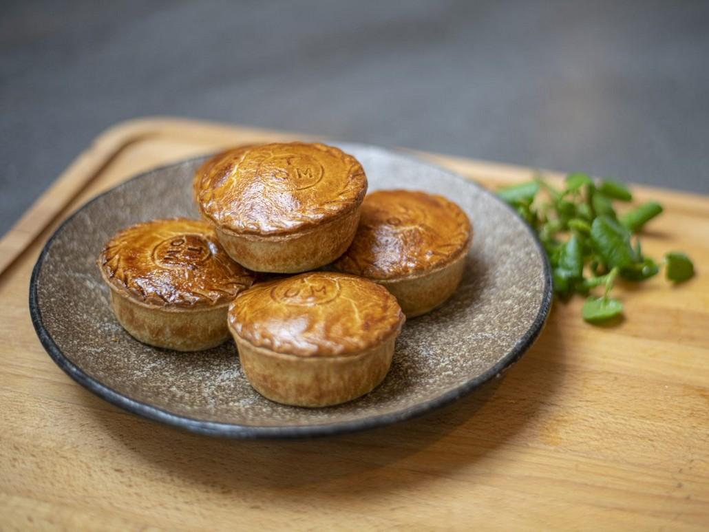 Steak and Ale Pie aus dem neuen Speedbird Cafe von British Airways
