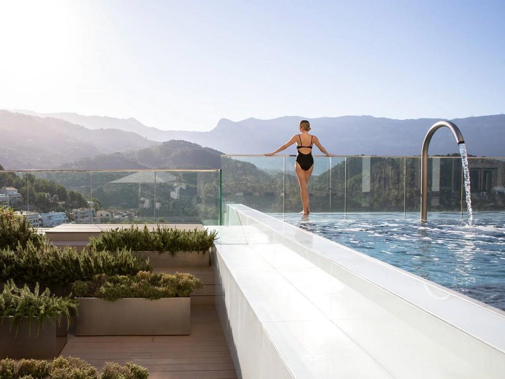 Pool Jumeirah Port Soller Mallorca